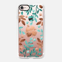 Copper Autumn (Transparent) iPhone 7 Case by Lisa Argyropoulos | Casetify