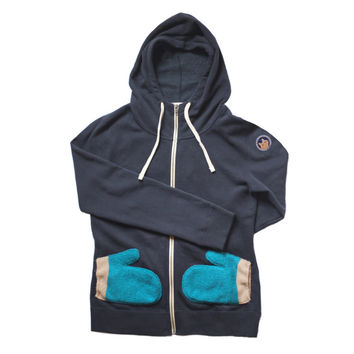 Toasty Time: The Toasty Time Women's Hoodie - Baltic