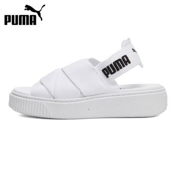 Original New Arrival 2018 PUMA Platform Sandal Wn's Women's Outdoor Sandals Sports Sneakers