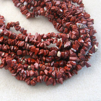 Brecciated Jasper Chip Beada, Gemstone Beads, Jewelry Making Beads, Necklace Design, Semi Precious Beads, Jasper Beads, Jasper Gemstones