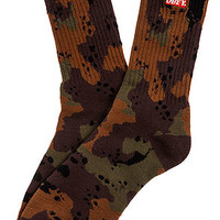 Obey The Quality Dissent Socks in Desert Blotch Camo : Karmaloop.com - Global Concrete Culture