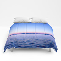 See my Sea #society6 Comforters by Azima