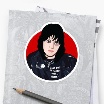 'Women of Punk - Joan Jett (v3)' Sticker by danellemichaud
