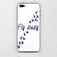 Fly Away. iPhone & iPod Skin by Ian Layne | Society6