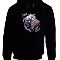 Sally And Jack In Love Hoodie