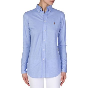 Polo Ralph Lauren Blue Oxford Shirt