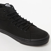 Vans Black Canvas Sk8-Hi Slim Sneakers at PacSun.com