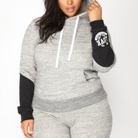 Love Sequence Lounge Hoodie - Marled Charcoal