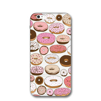 Newest Customized Doughnut Case Cover for iPhone 7 7 Plus & iPhone 5s se & iPhone 6 6s Plus + Gift Box-464