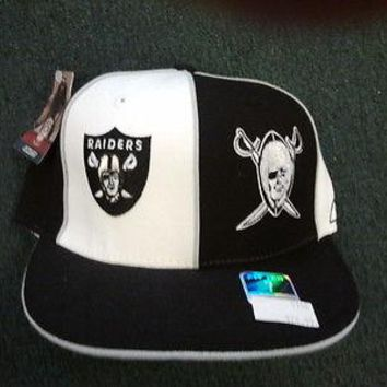OAKLAND RAIDERS RETRO REEBOK FITTED HATS
