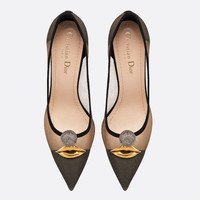 Dior  SURREAL-D HIGH-HEELED SHOE IN TULLE AND SUEDE CALFSKIN