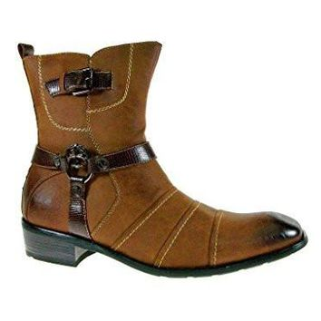 Men's 811 Western Cowboy Calf High Riding Boots