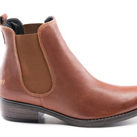 Casau Chelsea Ankle Boots - Whiskey Brown