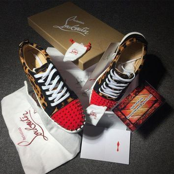 PEAPUX5 Cl Christian Louboutin Low Style #2080 Sneakers Fashion Shoes