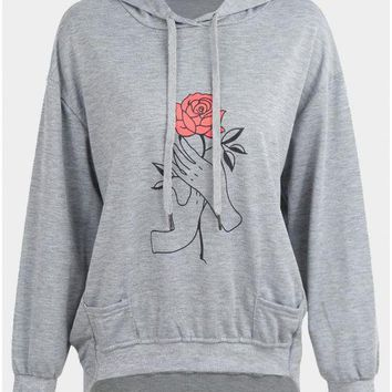C| Chicloth New Fashion Women Hoodie Pullover Hooded overl Loose Sweatshirts