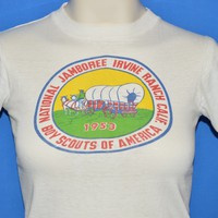 50s Boy Scouts National Jamboree Irvine Ranch t-shirt Extra Small