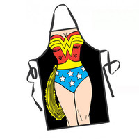 Wonder Woman Cooking Apron | SuperheroDen.com