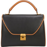 Colorblock Large Scottie Satchel