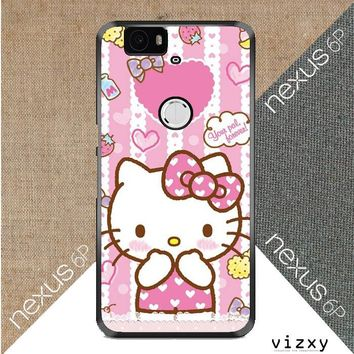Hello Kitty Candy Pink L1944 Huawei Google Nexus 6P Case