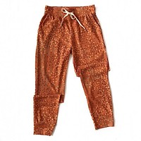 NEW! Rust Abstract Joggers