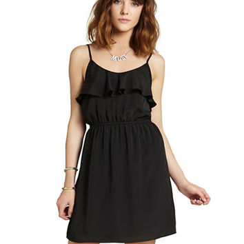 Bcbgeneration Sleeveless Ruffle Dress