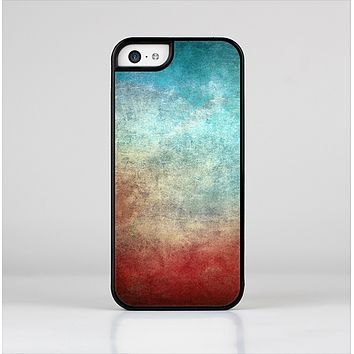 The Faded Grunge Color Surface Extract Skin-Sert Case for the Apple iPhone 5c