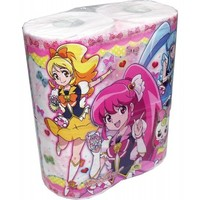 HappinessCharge PreCure! Anime Toilet Paper