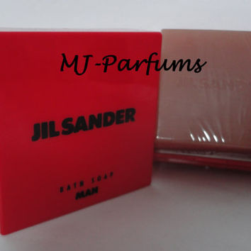 Vintage: Jil Sander Feeling Man Bath Soap, Seife, 150g