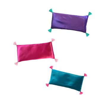 LAVENDER EYE PILLOW WITH TASSELS