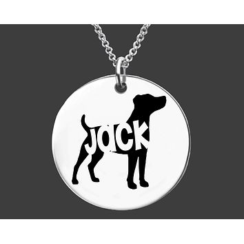 Jack Russell Terrier Necklace | Personalized Dog Jewelry