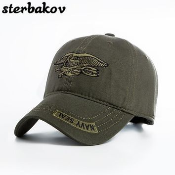 Trendy Winter Jacket sterbakov 2017 Snow Camo Baseball Cap Men Camouflage Tactical Cap Male Bone Snapback Hat For Men High Quality Dad Trucker Hat AT_92_12