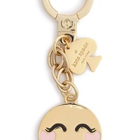 kate spade new york 'blushing emoji' bag charm | Nordstrom