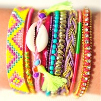 Hipanema Lovelyness Bracelet - Buy this beautiful holiday jewellery at Coco Bay