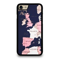 KATE SPADE GOING PLACES iPhone 4/4S 5/5S/SE 5C 6/6S 7 8 Plus X Case