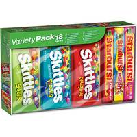 Walmart: Starburst and Skittles Variety Pack, 18 count