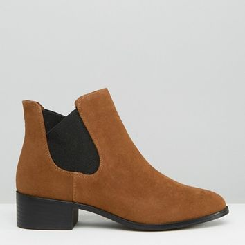 Pull&Bear Suedette Chelsea Boot at asos.com