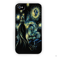 Star Wars Darth Vader Van Gogh M For iPhone 4 / 4S Case