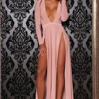 Envy Gown Blush Pink