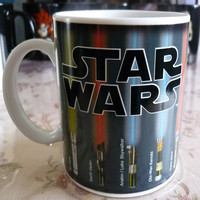 Star Wars Mug  Lightsaber Heat Color Change (deal)