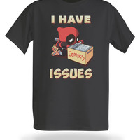I Have Issues T-Shirt - Charcoal,