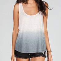 Others Follow Rosette Womens Tank Pink/Grey  In Sizes