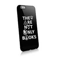 They Are Not Only Books Harry Potter Divergent Percy Jackson for Iphone and Samsung Galaxy Case (Iphone 6 Plus Black)