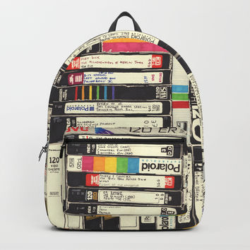 VHS Backpack by hollisbrownthornton