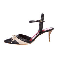 CH Carolina Herrera Spectator Pumps