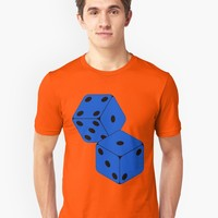 'TUMBLING DICE' T-Shirt by IMPACTEES