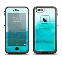 The Grungy Blue Watercolor Surface Apple iPhone 6 LifeProof Fre Case Skin Set