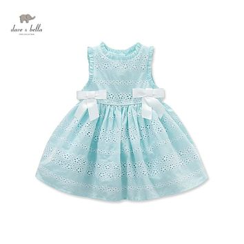 DB3461 dave bella  summer baby cute dress  baby girl fairy  dress children's boutique clothes  girl  lolita dress summer dress