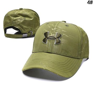Under Armour Women Men Embroidery Sports Sun Hat Baseball Cap Hat 4#