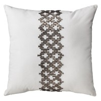 Nate Berkus Jewel Band Pillow 18x18""