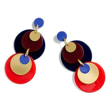 J.Crew Abba Statement Disc Earrings | Nordstrom